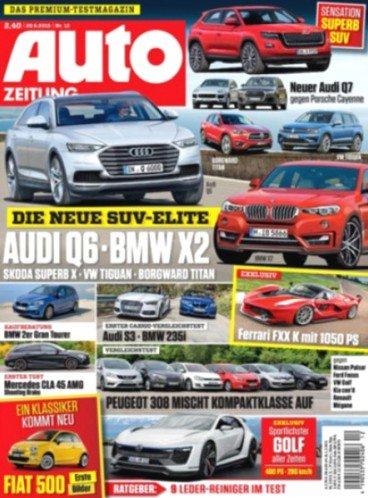 Auto Zeitung für 59,80€ mit 55€ Universalgutschein bzw. 60€ Allyouneed Gutschein für effektiv 4,80€