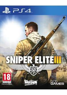 Sniper Elite 3 (PS4/Xbox One) für 22,49€ @Base.com