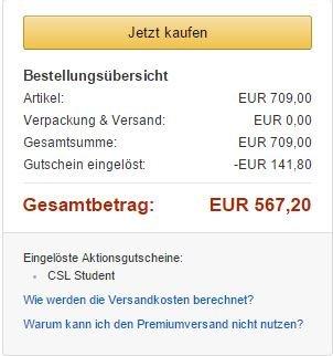 [Amazon Student] Brauchbarer Gaming PC für 567€