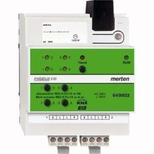 [AMAZON PRIME] Merten 649802 Jalousieaktor REG-K/2x/10 mit Handbetätigung, lichtgrau 95% gespart!
