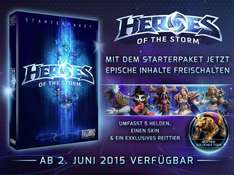 Heroes of the Storm [Starter] - 6 Helden + 2 Skins + 1 Reittier @Amazon