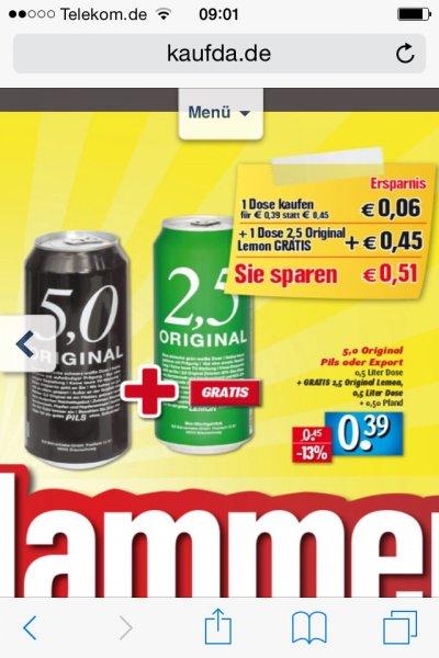 [Edeka Center] 5.0 Pils + 2,5 Radler für 0,39€