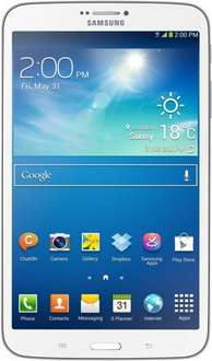 "Samsung™ - 8"" Tablet-PC ""SM-T3150 Galaxy Tab 3 8.0 LTE"" (1280x800,2x1.50GHz,1.5GB/16GB RAM,1.3/5.0 Cam,Android 4.2.2,LTE,Vodafone-Edition) ab €164,29 [@GetGoods.de]"
