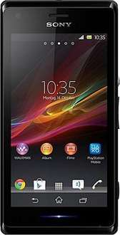 Sony Xperia M (sehr gut) WHD Einsteiger-Smartphone 4 Zoll) TFT-Display, 1GHz, Dual-Core, 1GB RAM, 5 Megapixel Kamera, NFC JellyBean