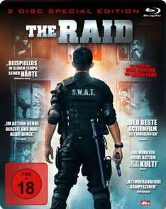 The Raid (Steelbook) [Blu-ray] [Special Edition] für 7,90€ @Media Markt