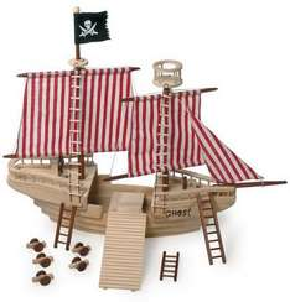 An Deck ihr faules Lumpenpack und entert das Small Foot Design Piratenschiff für 33,07 € statt 79,95 €! Wo ihr entern sollt? Bei @Amazon, diesen Flachwasser-Piraten