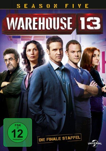 Warehouse 13 - Season Five: Die finale Season [2 DVDs] für 9,99€ inkl. Versand @Saturn.de
