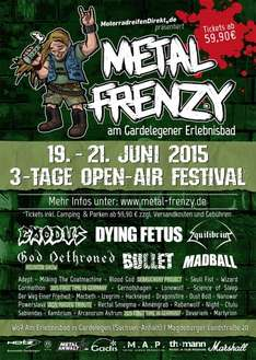 Festival für Metaler: Metal Frenzy Tickets