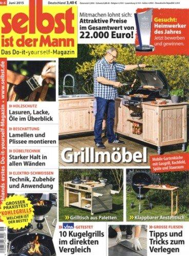 """Jahresabo der Zeitschrift """"Selbst ist der Mann"""" für 40,80€ mit 30,00€ Gutschein – Effektivpreis: 10,80€"""