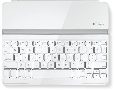 Logitech Ultrathin Keyboard Cover in Schwarz oder Weiß - Für iPad/2/3/4 - QWERTZ für 37,99€ @ Allyouneed