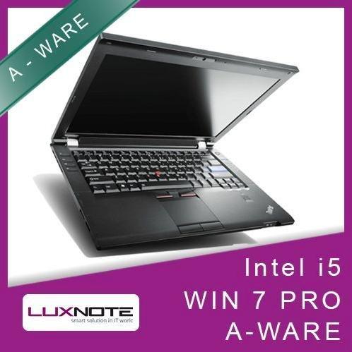 "Lenovo Thinkpad L420 Intel i5 2,5Ghz 4Gb 80Gb SSD 14.1"" Win7Pro - Gebraucht - @ebay für 227€"