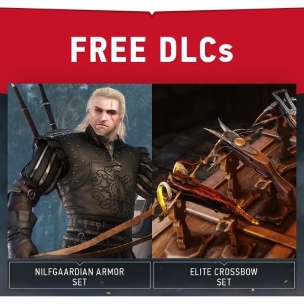 [Xbox One/Steam]The Witcher 3: Wild Hunt Nilfgaardisches Rüstungs-Set & Elite-Armbrüste