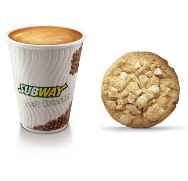 Gratis Kaffee und Cookie bei Subway in Berlin Mitte