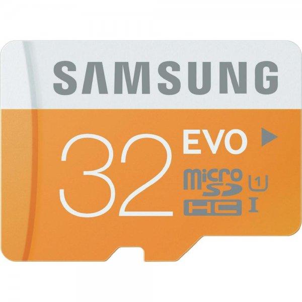 [@Conrad.de]: Samsung Evo 32 GB microSDHC-Karte Class 10, UHS-I für 12,99€ // 2 Stück für 20,44€ = 10,22€ pro Karte Versandkostenfrei