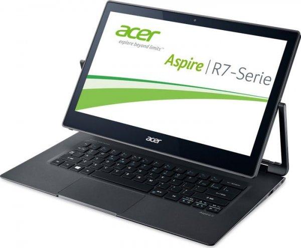 CyberPort: Acer R7-371T-52JR, Touch, i5 5.Gen, 8GB, 256 GB SSD, Full-HD für 855€ durch 100€ Gutschein Aktion (Versandkostenfrei)