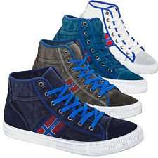 @Ebay.de - Nebulus Sneaker YORK mit Leder, Herren/Damen, 35% Leder; 65 % Baumwolle, Schuhe für 26,99€ inkl. Versand