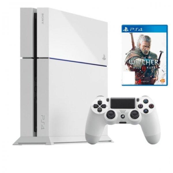 PS4 inkl. Witcher 3 in Weiß/Schwarz für 360€ (ebay Saturn)