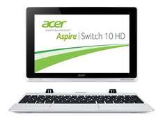[WHD] Acer Aspire Switch 10 SW5-012 25,6 cm (10,1 Zoll HD) Convertible Notebook (Intel Atom Z3735F Quad Core, 1,3GHz, 2GB RAM, 32GB eMMC + 500GB HDD, Win 8.1, HD Display mit IPS Technologie, Touchscreen) silber