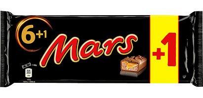 Mars,Twix oder Snickers Schokoriegel, je 7er -Pack (350g) für 1,11€ bei Kaufland Nächstes WE ab Do.