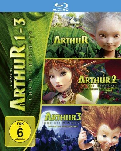 (Amazon.de-Prime) Arthur und die Minimoys 1-3 Blu-Ray für 18,49€