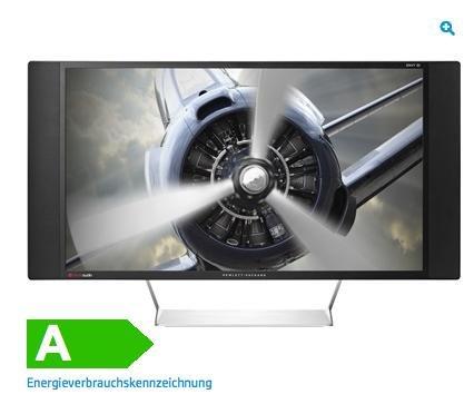 """HP Envy 32 Media Display (32"""") Monitor mit Beats Audio (MHL, HDMI, DisplayPort, USB, Quad HD, 7ms Reaktionszeit, Beats Audio) für 424 € @HP"""