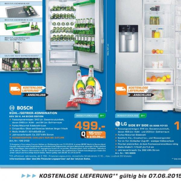 Bosch Becks Edition Kühlschrank