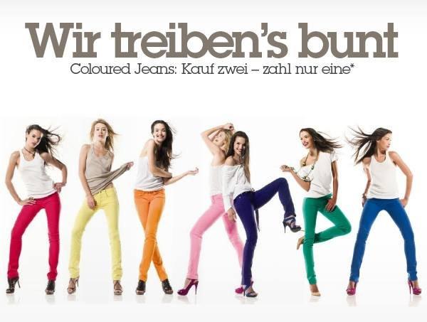 Designer Jeans für Damen als 2für1 Aktion