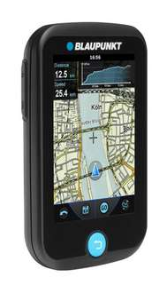 [real.de] Blaupunkt BikePilot Fahrradnavi mit OpenStreetMap Karten, SiRF-V-Chip, Bluetooth, elektr. Kompass und Barometer [-14%]