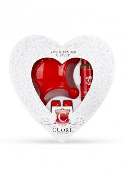 [AMAZON Plusprodukt] Cuore Romantico Cuore Geschenkset Love & Tender für 5,00 €