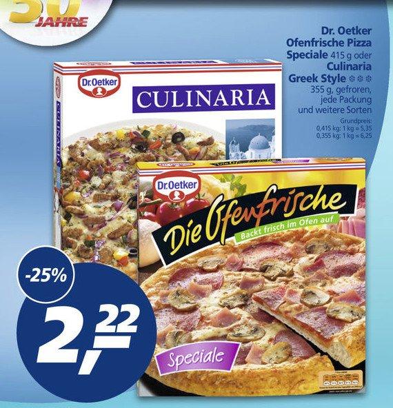 """[Real] Dr. Oetker """"Die Ofenfrische"""" für 1,72€ (Angebot+Coupon)"""