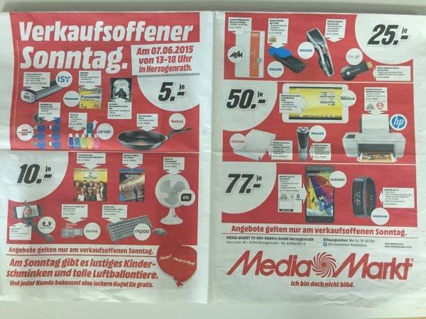Google Chromecast 25€, HP Deskjet 2544 50€, AVM Repeater 310 25€, Mobistel Cynus F6 77€... u.v.m. (lokal Media Markt Herzogenrath)