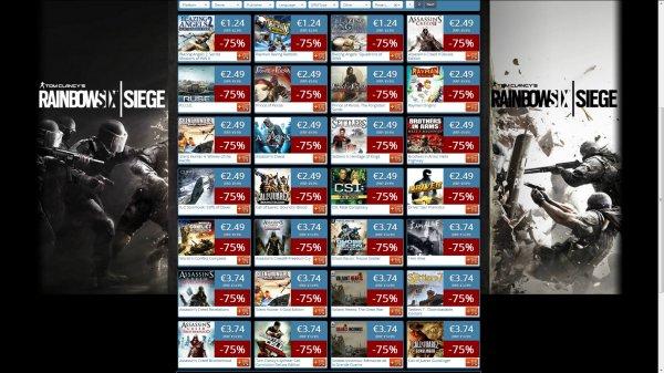 Ubisoft Sale bei Get Games 40-75% billiger zB.: Assassin's Creed 2 Deluxe für 2,49€