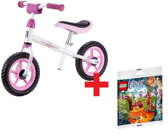 KETTLER Laufrad Speedy, 10 Zoll Prinzessin + LEGO 30259 Elves: Azaris magisches Feuer für 25,70€ inkl. Versand @mytoys.de