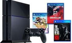 Playstation 4 + Driveclub + Little Big Planet 3 + The Last of Us Bundle PS4 für 369,90 @ ebay.de