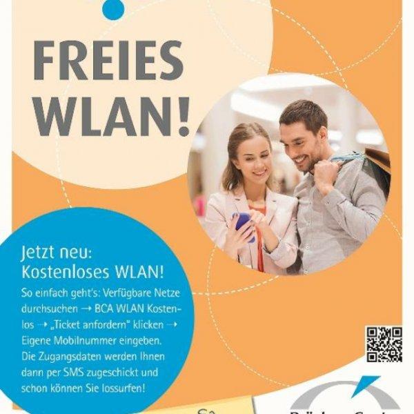 [Lokal Ansbach] Gratis WLAN im Brücken-Center Ansbach