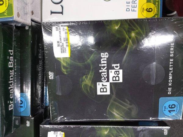 (MedieMarkt Erfurt) Breaking Bad - Komplette Serie DVD