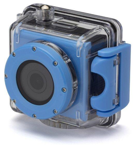 (Amazon) Kitvision Splash Waterproof Action Cam Full HD mit Halterungsset und wasserdichtem Gehäuse für 32,05 EUR