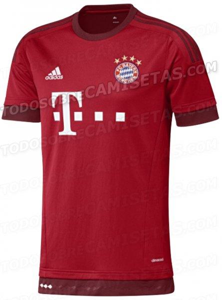 Bayern München Trikot 15/16 Größe M für 50,95 € XL für 49,95