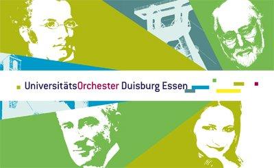 Konzert des Universitätsorchesters Duisburg-Essen, 26./27.6.