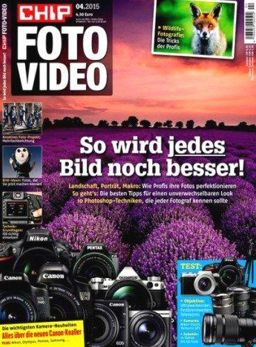 """6 Ausgaben """"CHIP Foto-Video digital DVD"""" inkl. DVD für 36,90€ mit 30,00€ Universalgutschein – Effektivpreis: 6,90€"""