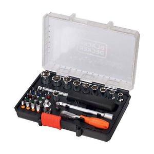 Black & Decker A7225-XJ 35tlg Bit- und Ratschenset