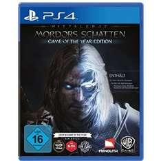 Mittelerde: Mordors Schatten - Game of the Year Edition (PS4/Xbox One) für je 32,97€ @Amazon.de