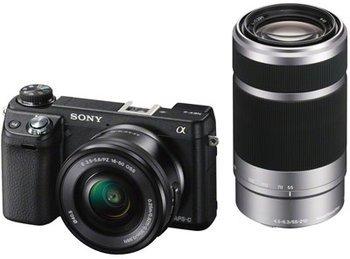 [amazon] Sony NEX-6YB Kit inkl. SEL-P1650 und SEL-55210 Objektiv
