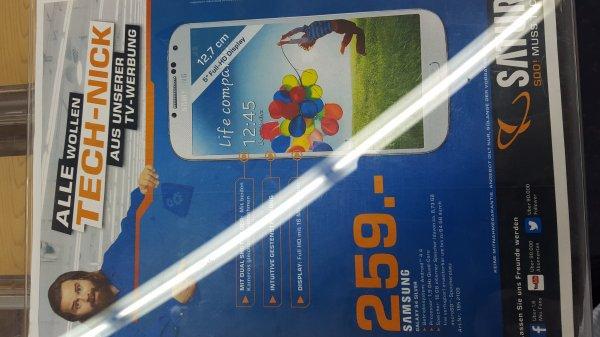 [LOKAL SATURN OSNABRÜCK] Samsung Galaxy S4 259€