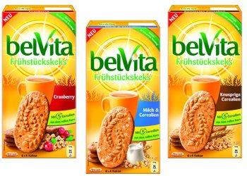 [GLOBUS Homburg-Einöd] KW24 belVita Frühstückskekse (versch. Sorten, je 300 g) 6 Packungen für 3,94 € (Angebot + Coupon/Scondoo) [Gültig bis 13.06.2015]