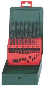 "(Amazon Prime) Metabo 627151000 HSS-R-Bohrerkassette 19-teilig ""Promotion"" für 6,02 EUR"