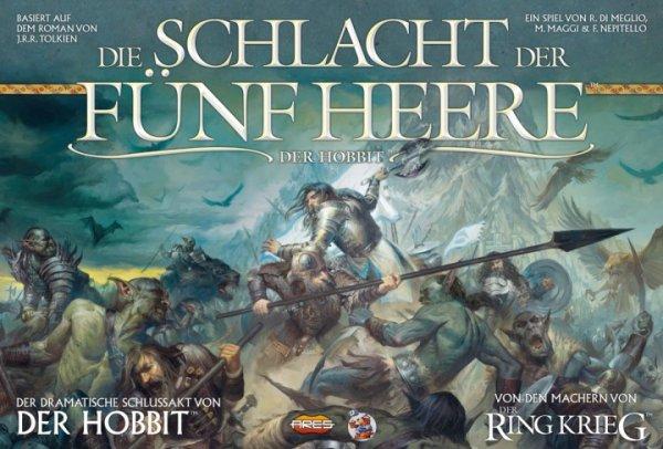 Gesellschaftsspiele bei spielgilde.de - z.B. Der Hobbit Die Schlacht der fünf Heere für 45€, The Manhattan Project (deutsch) für 28€, zzgl. Versand