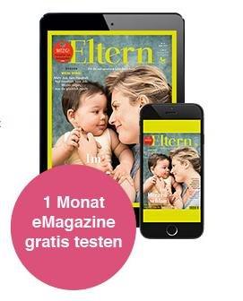 ELTERN eMagazine 1 Monat Gratis Testen (iPhone oder iPad)