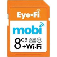 Eye-Fi Mobi SDHC 8GB + Wifi
