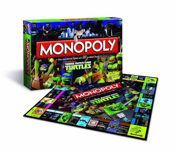 Hasbro, Monopoly Teenage Mutant Ninja Turtles, für 19,95 € und versandkostenfrei bei @Real.de